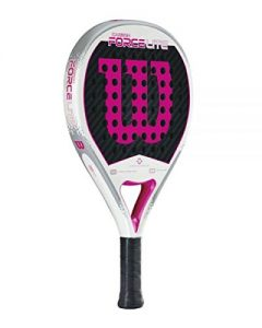 WILSON CARBON FORCE LITE BLANC ROSE