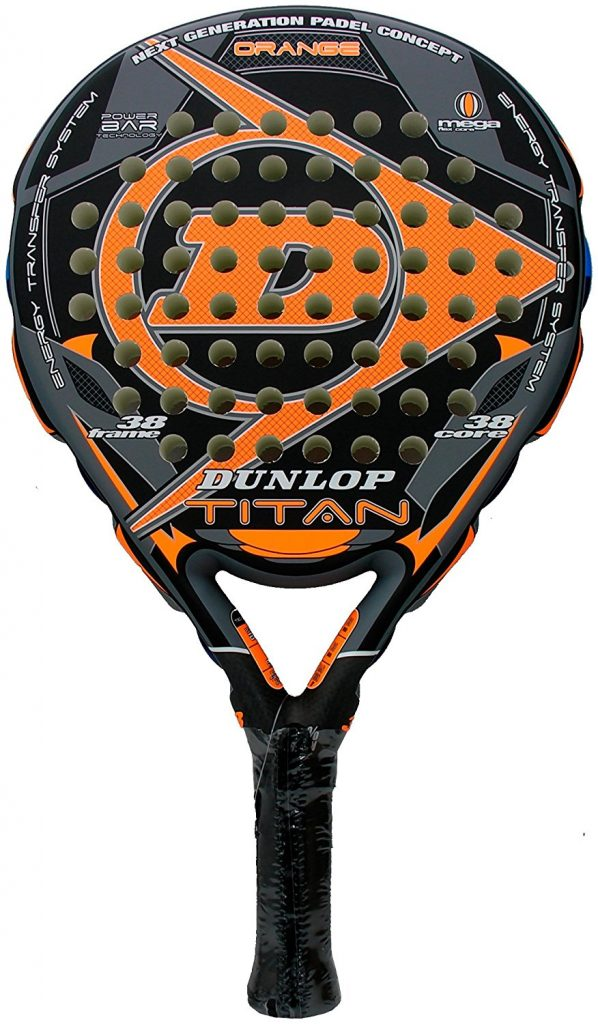 raquette padel dunlop Titan 16 Orange